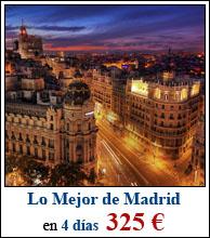 Lo mejor de Madrid en 4 días