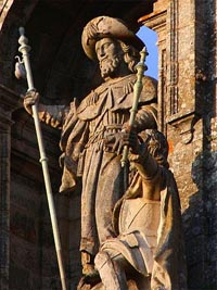 Image result for st. james compostela spain