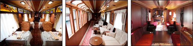 Tren Transcantabrico Gran Lujo: Salones